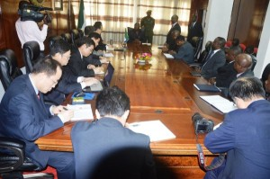 Mining stakeholders meeting with the President at State House