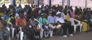 School pupils from different institutions attended the occassion