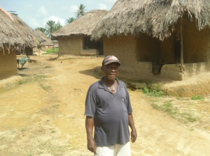 Acting town chief of Kpetema Bumpe chiefdom Bo district