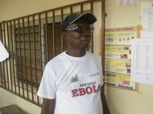DMO of Kono district Dr, Sorie Manso Dumbuya