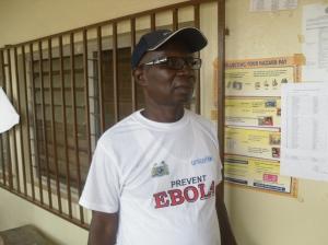 DMO of Kono district Dr, Sorie Manso Dumbuya