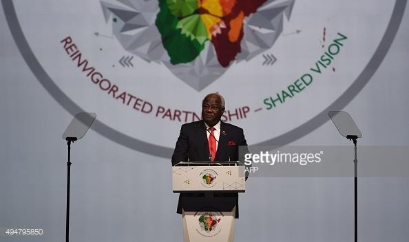 Koroma-In-Indian-African-Summit