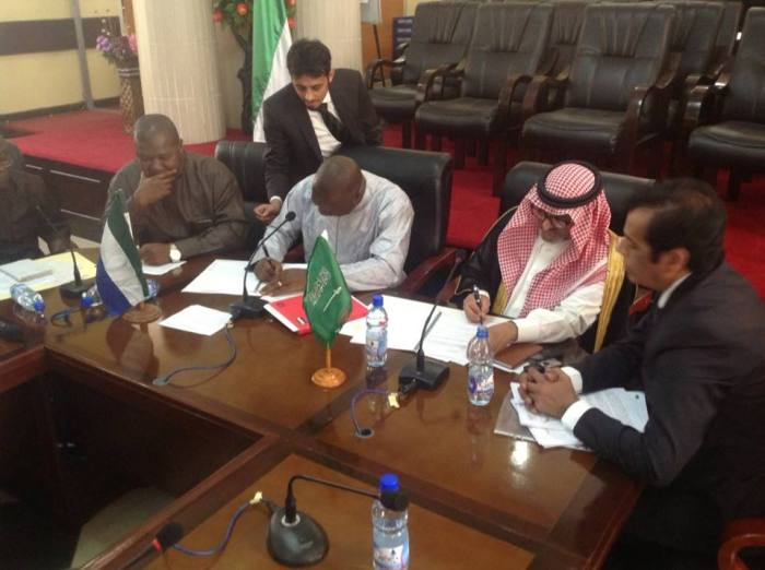 Signing of document