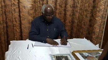 President Dr. Ernest Bai Koroma