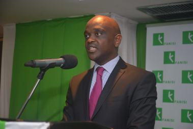 Kenya Power Pension Fund CEO Henry Kyanda during the Investor breifing on 14th June at Norfolk
