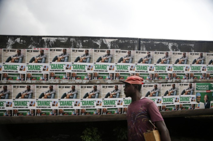 Political campaigning in Nigeria. Reuters