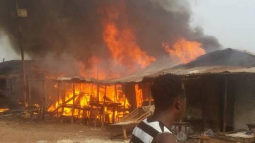 Photos of violence in Kenema Photo credit: John Koroma