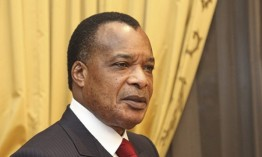 Congolese President Denis Nguesso